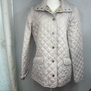 NWT Burberry Brit quilted Jacket Size L
